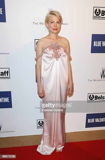 Actress Michelle Williams attends the Blue Valentine After Party at Palais Stephanie during the 63rd Annual Cannes Film Festival on May 18 2010 in...