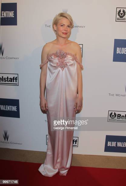 Actress Michelle Williams attends the Blue Valentine After Party at Palais Stephanie during the 63rd Annual Cannes Film Festival on May 19, 2010 in...