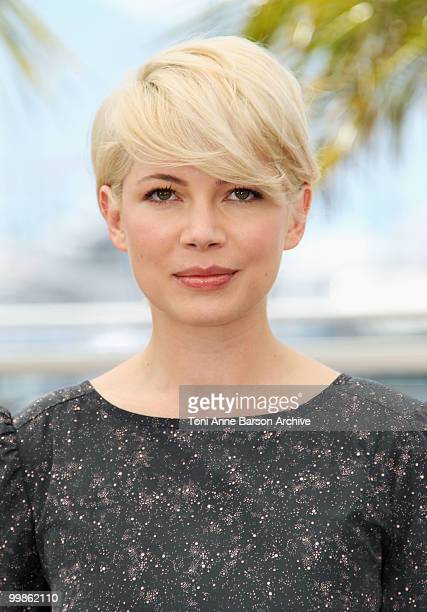Actress Michelle Williams attends the 'Blue Valentine' Photo Call held at the Palais des Festivals during the 63rd Annual International Cannes Film...