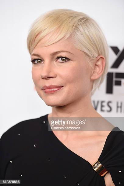 Actress Michelle Williams attends the Certain Women premiere during the 54th New York Film Festival at Alice Tully Hall Lincoln Center on October 3...