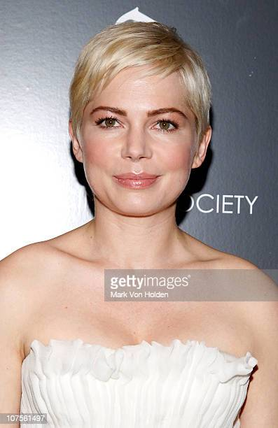Actress Michelle Williams attends the Cinema Society Piaget screening of 'Blue Valentine' at theTribeca Grand Hotel on December 13 2010 in New York...