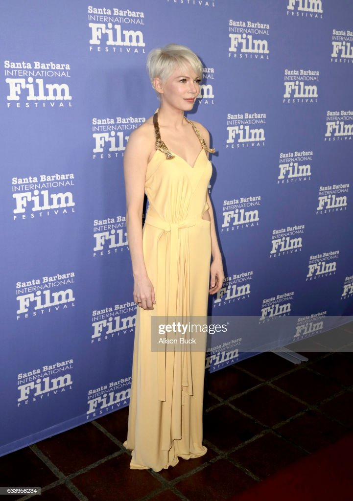The 32nd Santa Barbara International Film Festival -  Cinema Vanguard Award: Casey Affleck and Michelle Williams : News Photo