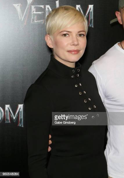 Actress Michelle Williams attends the CinemaCon 2018 Gala Opening Night Event Sony Pictures Highlights its 2018 Summer and Beyond Films at The...