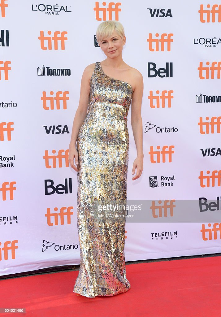 Actress Michelle Williams attends the 'Manchester by the Sea' premiere during the 2016 Toronto International Film Festival at Princess of Wales Theatre on September 13, 2016 in Toronto, Canada.