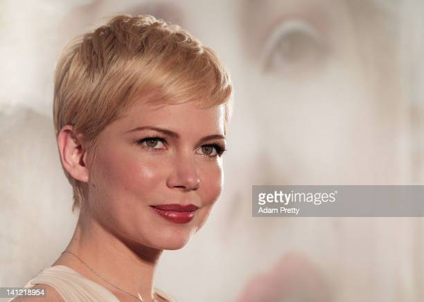Actress Michelle Williams attends the 'My Week with Marilyn' Japan Premiere at Roppongi Hills on March 13 2012 in Tokyo Japan The film will open on...