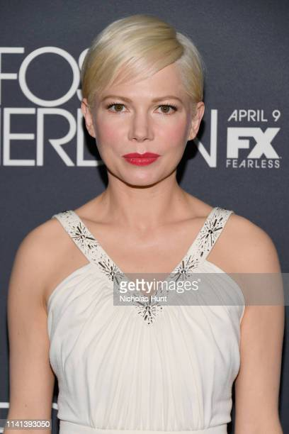 Actress Michelle Williams attends the New York Premiere for FX's Fosse/Verdon on April 08 2019 in New York City