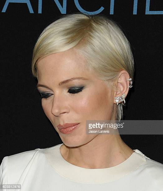 Actress Michelle Williams attends the premiere of 'Manchester by the Sea' at Samuel Goldwyn Theater on November 14 2016 in Beverly Hills California