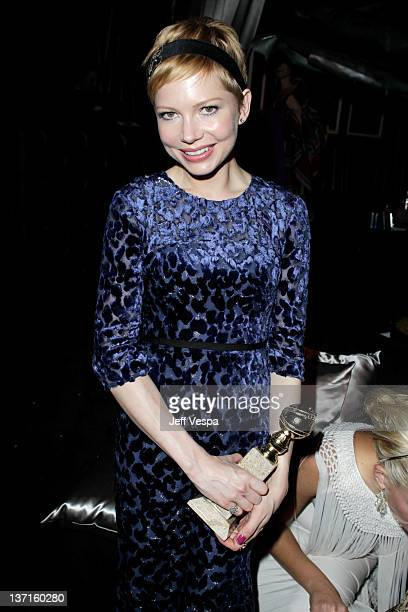 Actress Michelle Williams attends The Weinstein Company's 2012 Golden Globe Awards After Party with Chopard, Marie Claire and HP at The Beverly...