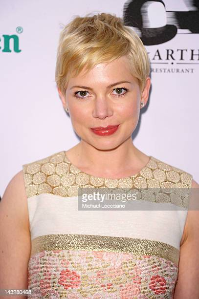Actress Michelle Williams attends Tribeca Film Festival 2012 AfterParty For Take This Waltz Hosted By Heineken on April 22 2012 in New York City