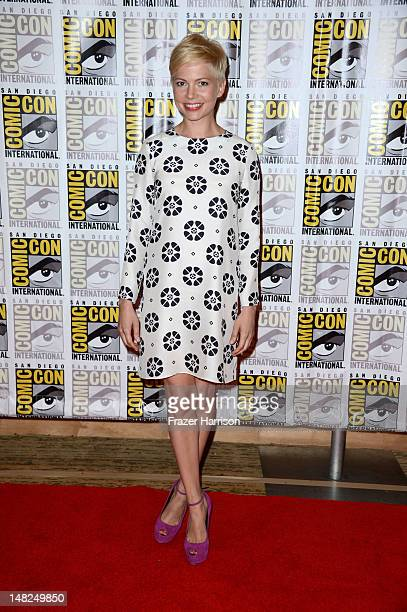 Actress Michelle Williams attends Walt Disney Studios Frankenweenie Wreck It Ralph and Oz during ComicCon International 2012 held at the Hilton San...