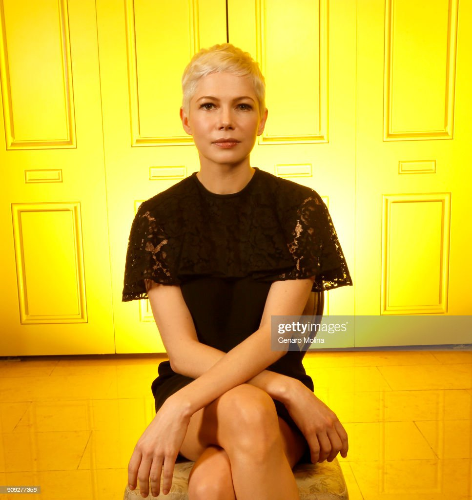 Actress Michelle Williams is photographed for Los Angeles Times on December 16, 2017 in Beverly Hills, California. PUBLISHED IMAGE.
