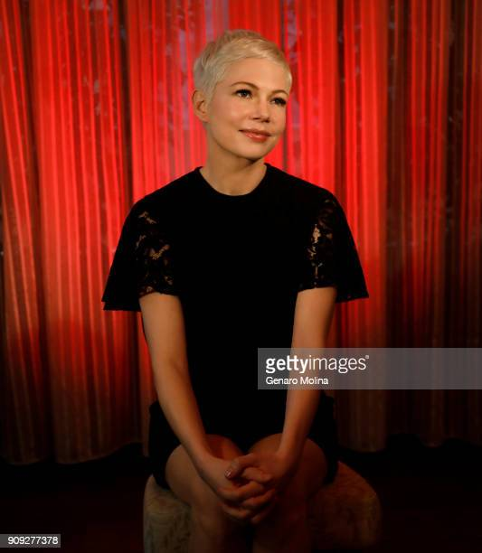Actress Michelle Williams is photographed for Los Angeles Times on December 16 2017 in Beverly Hills California PUBLISHED IMAGE CREDIT MUST READ...