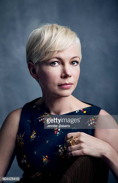 Actress Michelle Williams of 'Manchester by the Sea' poses for a portrait at the Toronto International Film Festival on September 12 2016 in Toronto...