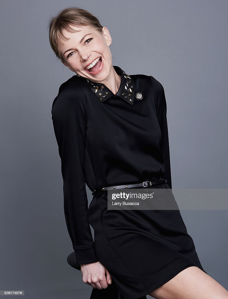 Actress Michelle Williams poses for a portrait at the 2016 Tony Awards Meet The Nominees Press Reception on May 4, 2016 in New York City.