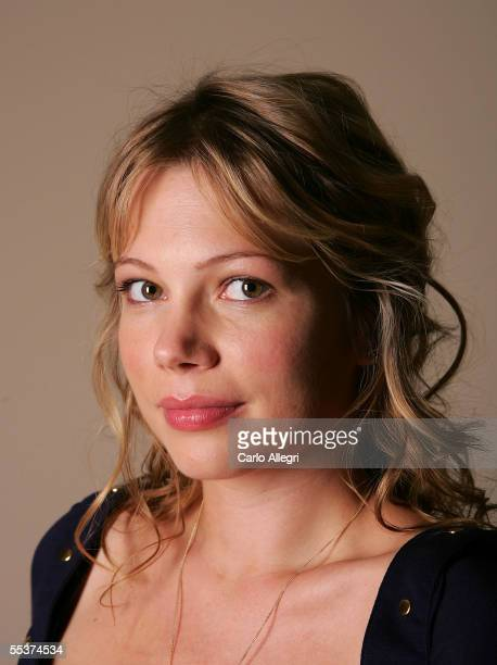 Actress Michelle Williams poses for a portrait while promoting her film Brokeback Mountain at the Toronto International Film Festival September 10...