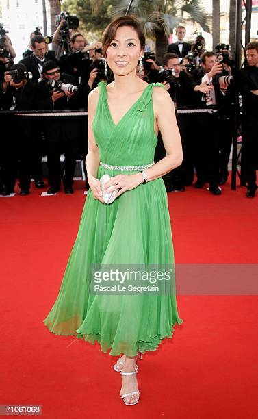 Actress Michelle Yeaoh attends the 'Quand J'Etais Chanteur' premiere at the Palais des Festivals during the 59th International Cannes Film Festival...