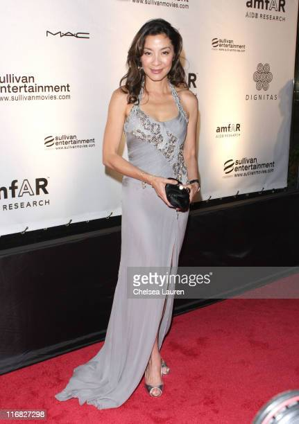 Actress Michelle Yeoh arrives at Cinema Against AIDS Toronto to benefit amfAR and Dignitas event held at The Carlu on September 15 2009 in Toronto...