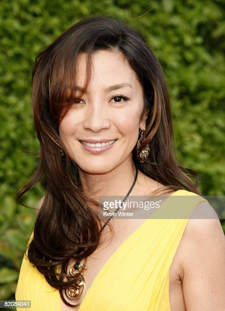 Actress Michelle Yeoh arrives at the premiere of Universal Picture's The Mummy Tomb of the Dragon Emperor at the Gibson Amphitheatre on July 27 2008...