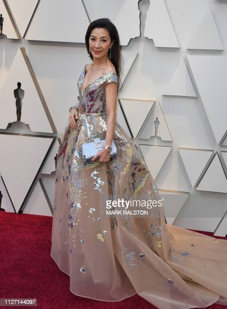 Actress Michelle Yeoh arrives for the 91st Annual Academy Awards at the Dolby Theatre in Hollywood California on February 24 2019