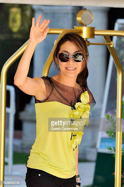Actress Michelle Yeoh attends the 67th Venice Film Festival on September 4 2010 in Venice Italy