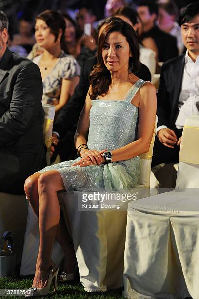 Actress Michelle Yeoh attends the Awards night and Closing Ceremony for the Hua Hin International Film Festival at the InterContinental Hua Hin...