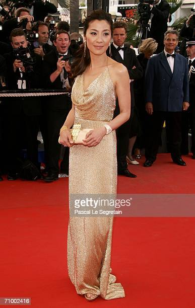 Actress Michelle Yeoh attends the 'Over The Hedge' premiere at the Palais during the 59th International Cannes Film Festival May 21 2006 in Cannes...