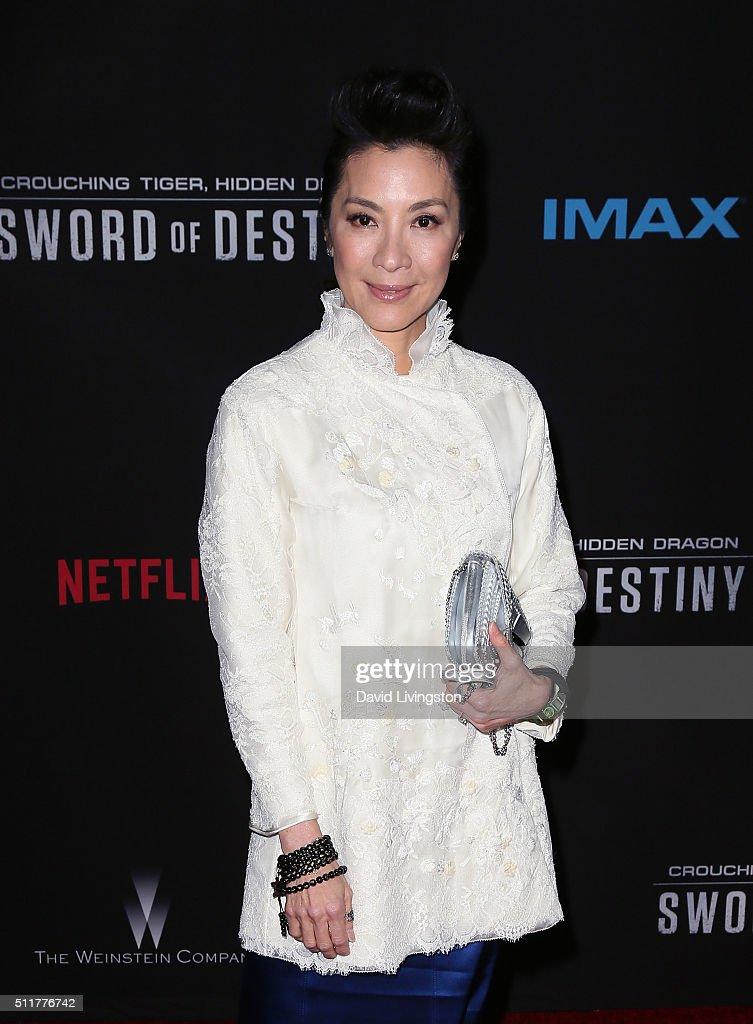 "Premiere Of Netflix's ""Crouching Tiger, Hidden Dragon: Sword Of Destiny"" - Arrivals : News Photo"