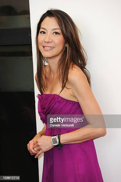 Actress Michelle Yeoh attends the 'Reign of Assassins' photocall at the Palazzo del Casino during the 67th Venice International Film Festival on...