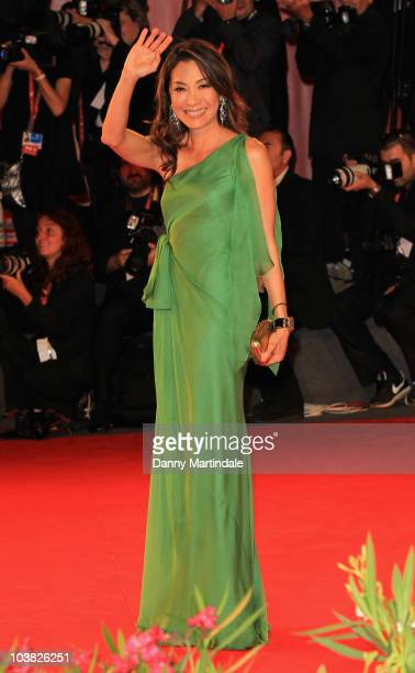 Actress Michelle Yeoh attends the Reign Of Assassins premiere at the Palazzo del Casino during the 67th Venice International Film Festival on...