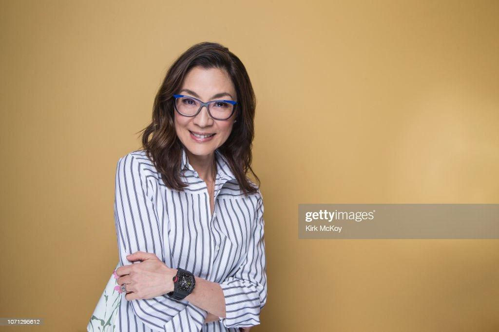 Michelle Yeoh, Los Angeles Times, November 20, 2018 : News Photo