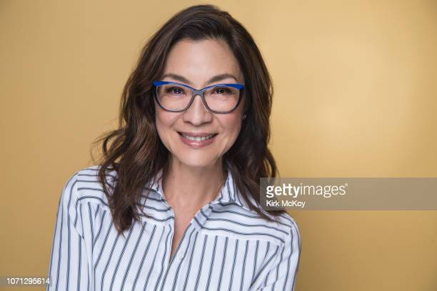 Actress Michelle Yeoh is photographed for Los Angeles Times on November 2 2018 in Beverly Hills California PUBLISHED IMAGE CREDIT MUST READ Kirk...