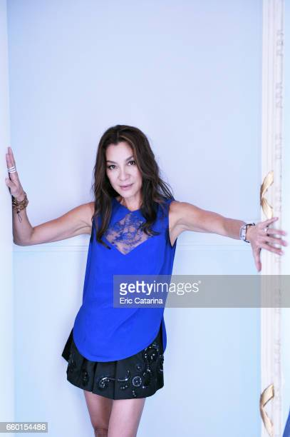 Actress Michelle Yeoh is photographed for Self Assignment on September 25 2009 in San Sebastian Spain