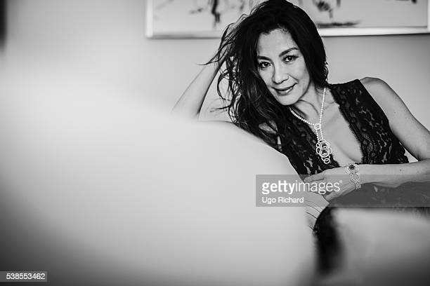 Actress Michelle Yeoh is photographed for Self Assignment on May 15 2016 in Cannes France