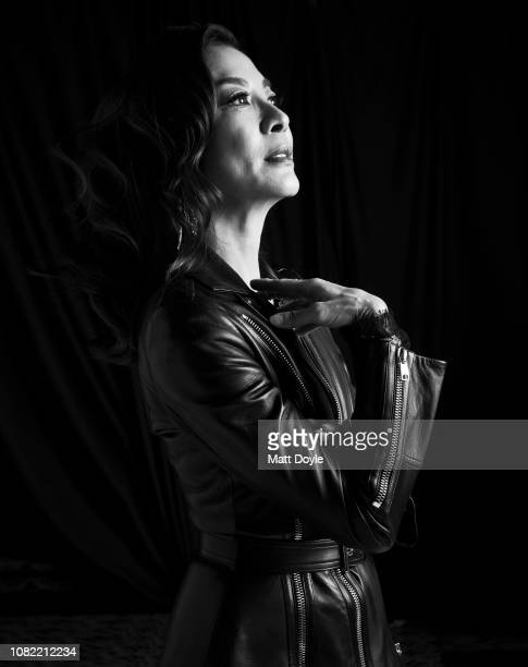 Actress Michelle Yeoh poses for a portrait at The National Board of Review Annual Awards Gala on January 8 2019 at Cipriani 42nd Street in New York...