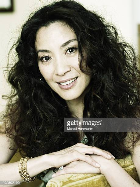 Actress Michelle Yeoh poses for a portrait shoot in Cannes France