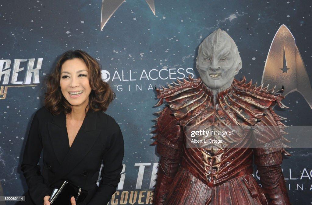Premiere Of CBS's 'Star Trek: Discovery' - Arrivals : Nachrichtenfoto