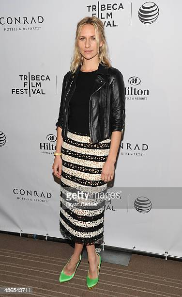 Actress Mickey Sumner attends Conrad Hotels Resorts hosts the Tribeca Film Festival Awards Ceremony at Conrad New York on April 24 2014 in New York...