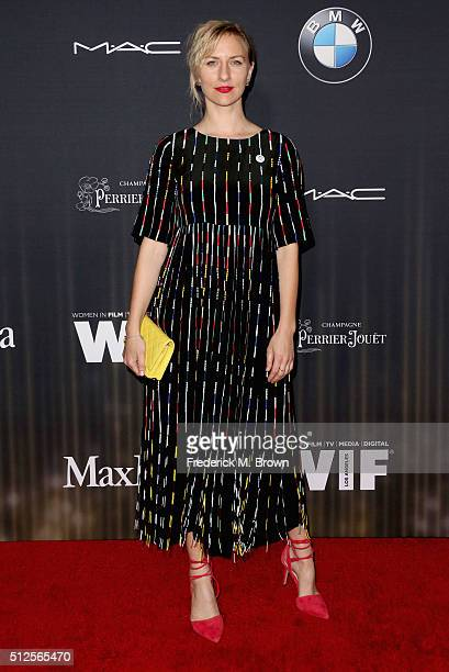 Actress Mickey Sumner attends Ninth Annual Women In Film PreOscar Cocktail Party presented by Max Mara BMW MAC Cosmetics and PerrierJouet at Hyde...