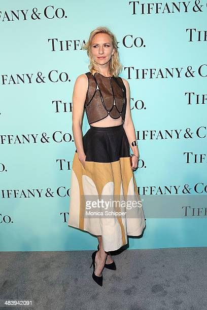 Actress Mickey Sumner attends the 2014 Tiffany's Blue Book Gala at the Guggenheim Museum on April 10 2014 in New York City