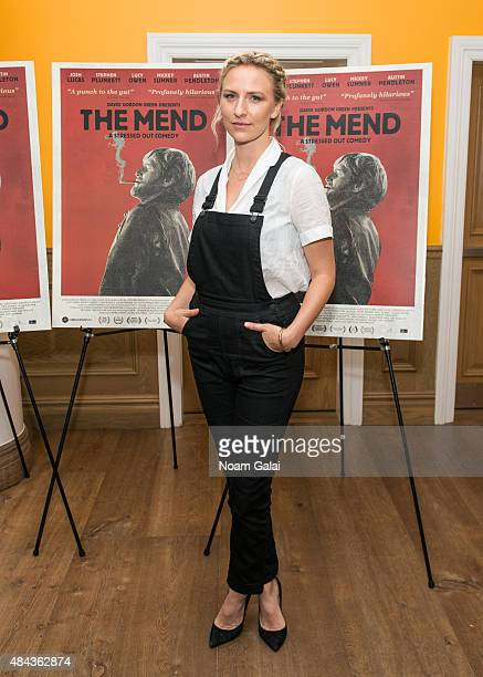 Actress Mickey Sumner attends 'The Mend' New York premiere at Crosby Street Hotel on August 17 2015 in New York City