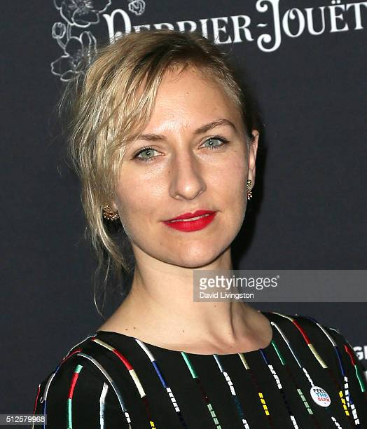 Actress Mickey Sumner attends the Ninth Annual Women In Film PreOscar Cocktail Party Presented By Max Mara BMW MAC Cosmetics And PerrierJouet at HYDE...