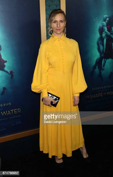 Actress Mickey Sumner attends the premiere of Fox Searchlight Pictures' The Shape of Water at the Academy of Motion Picture Arts and Sciences on...