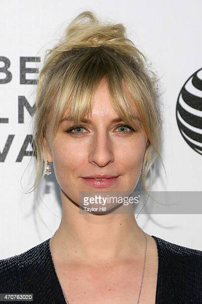 Actress Mickey Sumner attends the world premiere of Anesthesia during the 2015 Tribeca Film Festival at BMCC Tribeca PAC on April 22 2015 in New York...