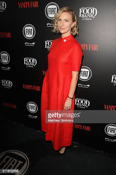 Actress Mickey Sumner attends Vanity Fair and FIAT Young Hollywood Celebration at Chateau Marmont on February 23 2016 in Los Angeles California