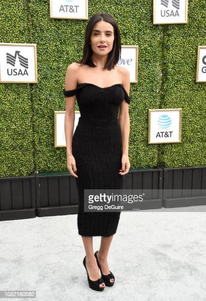 Actress Mikaela Hoover arrives at The CW Network's Fall Launch Event at Warner Bros. Studios on October 14, 2018 in Burbank, California.