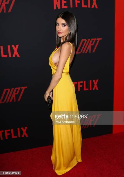 "Actress Mikaela Hoover attends the Premiere Of Netflix's ""The Dirt"" at ArcLight Hollywood on March 18, 2019 in Hollywood, California."