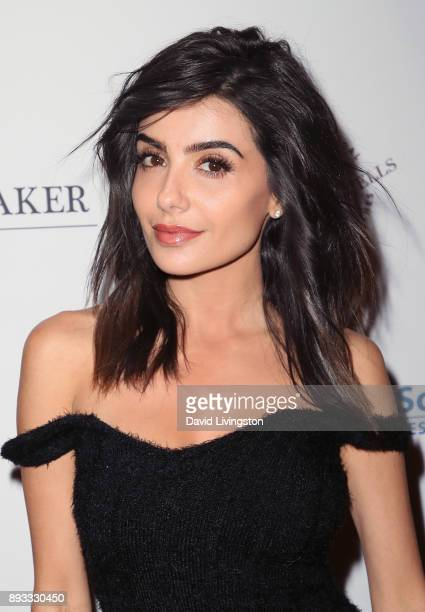 Actress Mikaela Hoover attends the Winter Comedy Ball at The Laugh Factory on December 14 2017 in West Hollywood California
