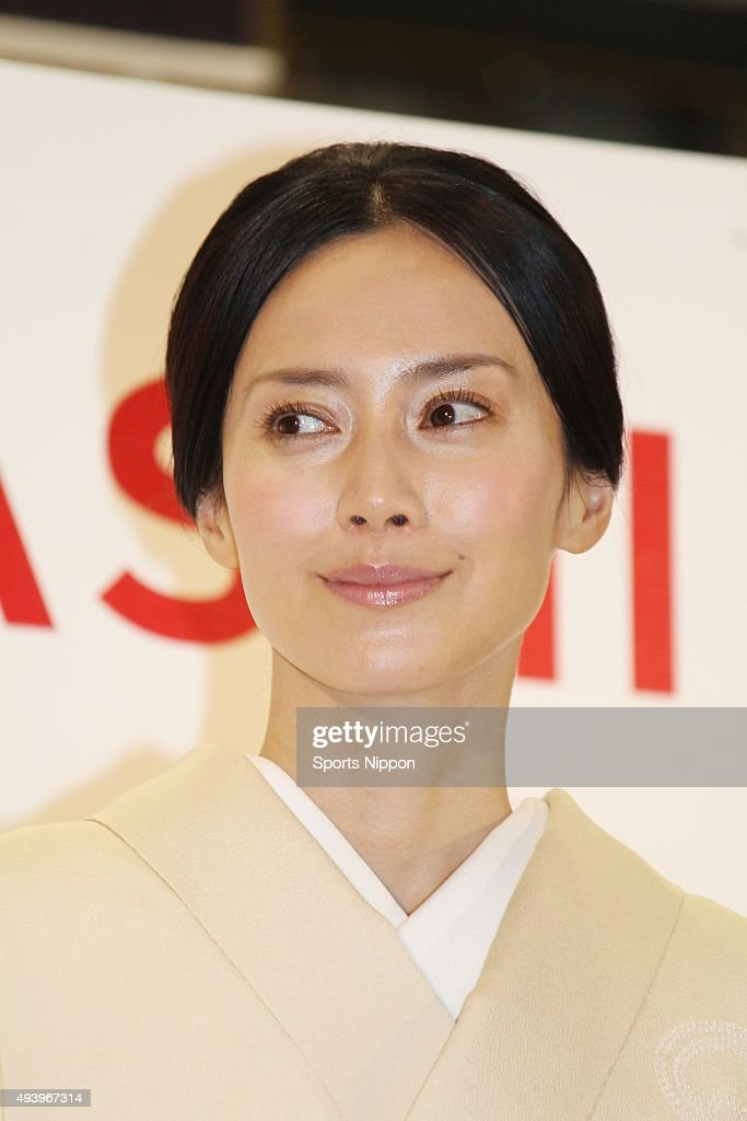 Miki Nakatani attends Press Conference In Tokyo : News Photo