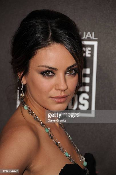 Actress Mila Kunis arrives at the 16th Annual Critics' Choice Movie Awards at the Hollywood Palladium on January 14 2011 in Los Angeles California