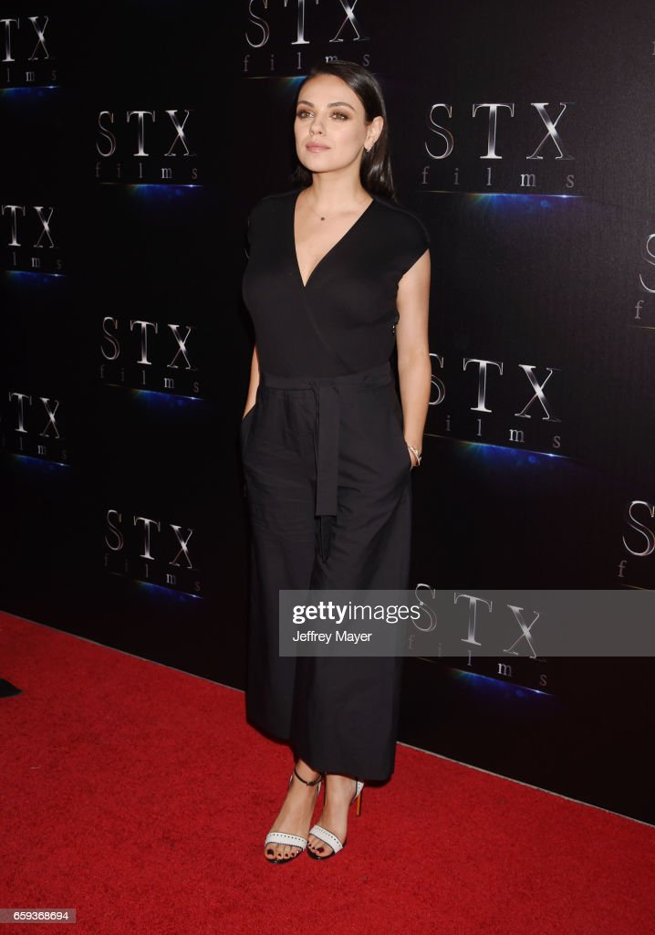 Actress Mila Kunis at CinemaCon 2017 The State of the Industry: Past, Present and Future and STX Films Presentation at The Colosseum at Caesars Palace during CinemaCon, the official convention of the National Association of Theatre Owners, on March 28, 2017 in Las Vegas, Nevada.